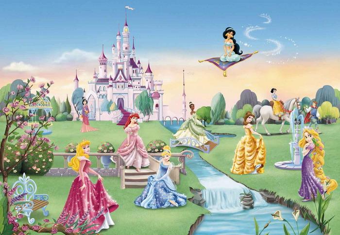 Disney-Princess-Mural